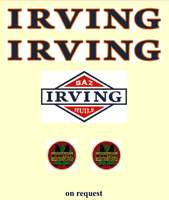 M23FR   MINNITOYS French IRVING DECAL SET